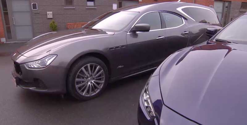 Photo of Maserati lijkwagens in beeld